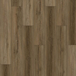 Walnut Oak SPC Flooring 4.35/0.55mm/6/0.5mm*1mm IXPE Pad*Unilin Click For UK Market LM8086L-006