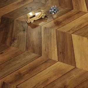 Chevron 1218*301*12mm Laminate Flooring (FL909)