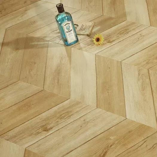 Chevron 1218*301*12mm Laminate Flooring (FL908)
