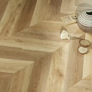 Chevron 1221*301*12mm Laminate Flooring (FL916)