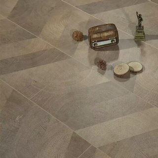 Chevron 1218*301*12mm Laminate Flooring (FL929)